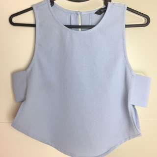 Glassons Cut Out Crop Top