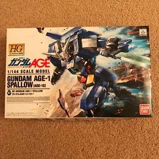 1/144 Scale Model Gundam Age-1 Spallow