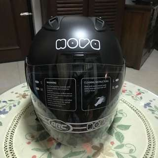 Nova Helmet in Matt Black