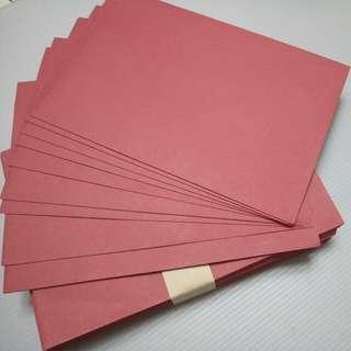萊泥紅 信封