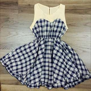💞Babydoll Checkered Dress