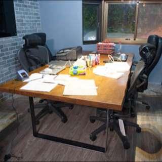 工業風 餐桌 辦公桌 復古懷舊