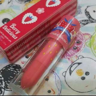 Etude House Berry Delicious Color In Liquid Lips Juicy #PK013 Ori 100%