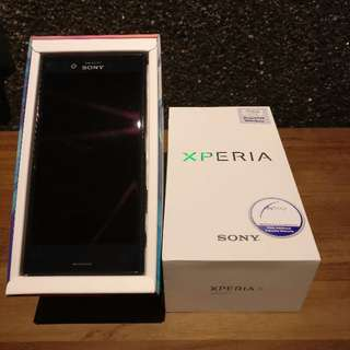 SONY XPERIA X COMPACT, MINT 32 GB Black Full Set with Warranty