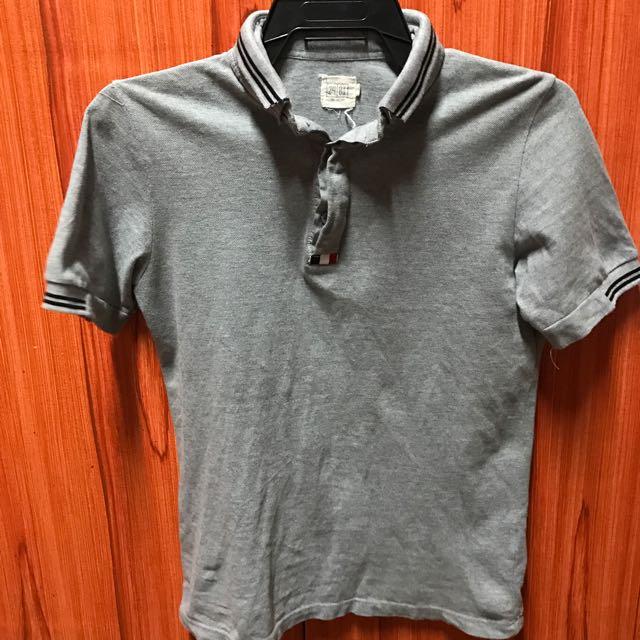 24:01 double collar polo shirt
