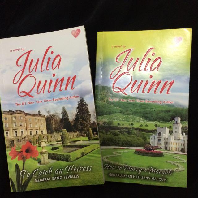 [2 Buku] Julia Quinn - Agents of The Crown Series