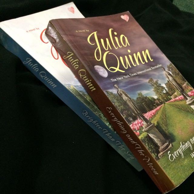 [2 Buku] Julia Quinn - Lyndon Sisters Series