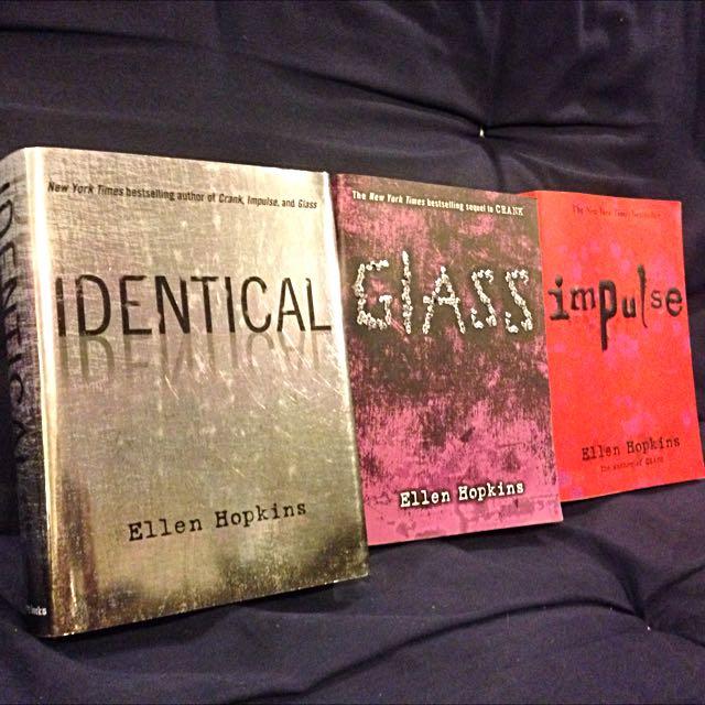 3 Ellen Hopkin Books