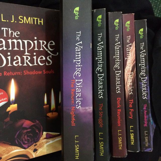 [6 Buku] Vampire Diaries Series