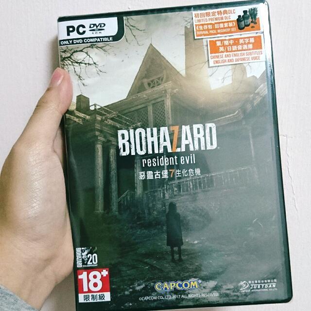 惡靈古堡7生化危機 PC/DVD