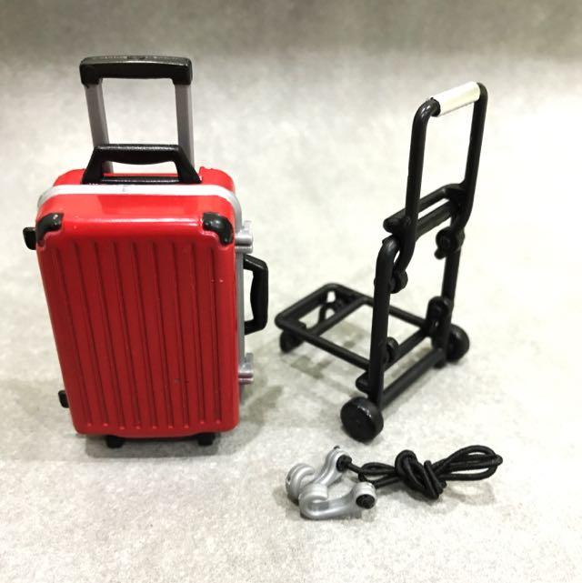 行李箱收納模型玩具