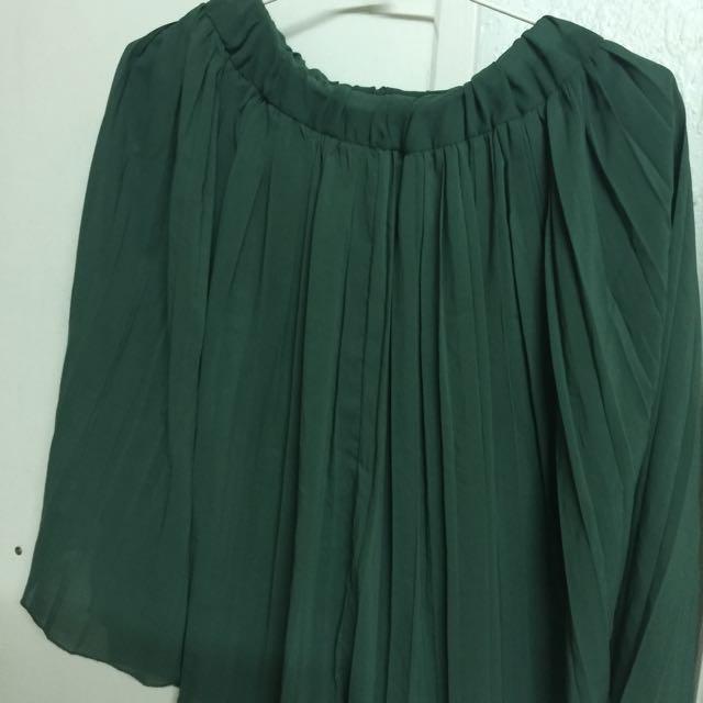 雙層百褶裙