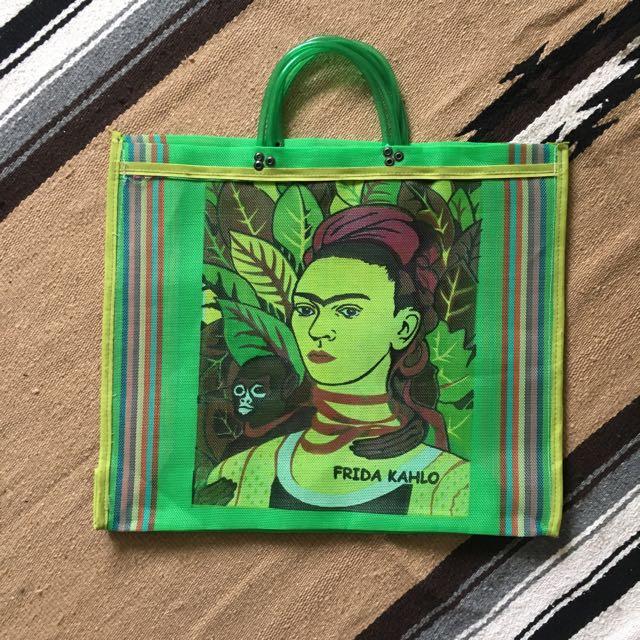 墨西哥 Frida Kahlo 購物袋