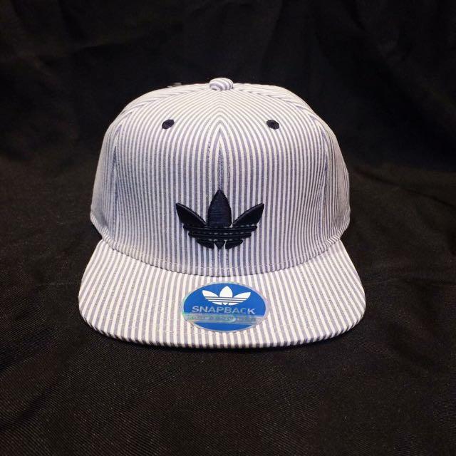Adidas Originals Logo SnapBack 線條球帽