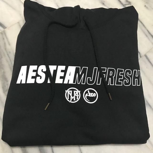AESxMJF聯名帽T