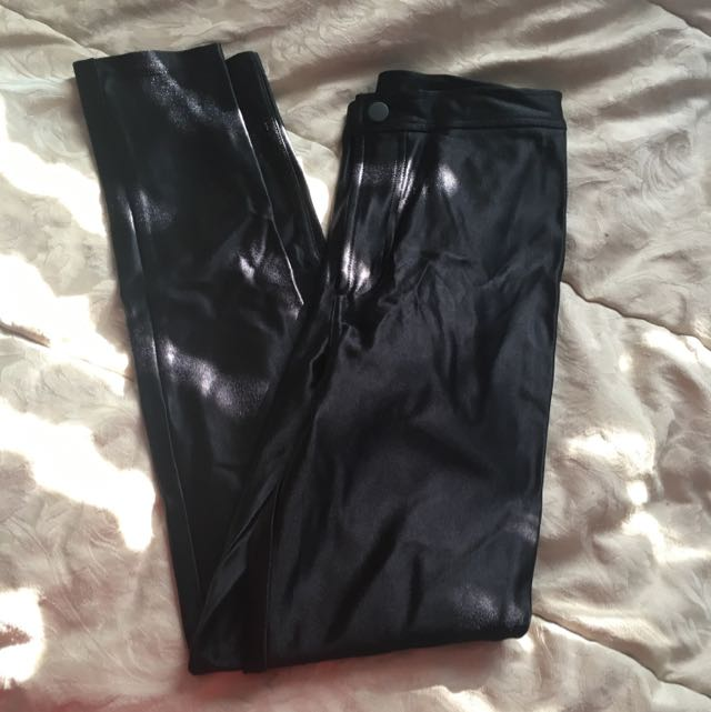 American Apparel Black Disco Pants