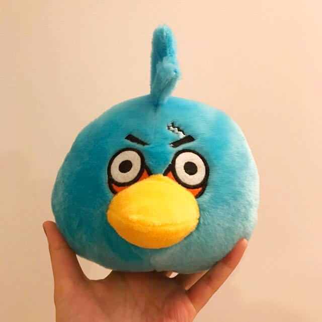 Angry Birds Blue Bird Plush