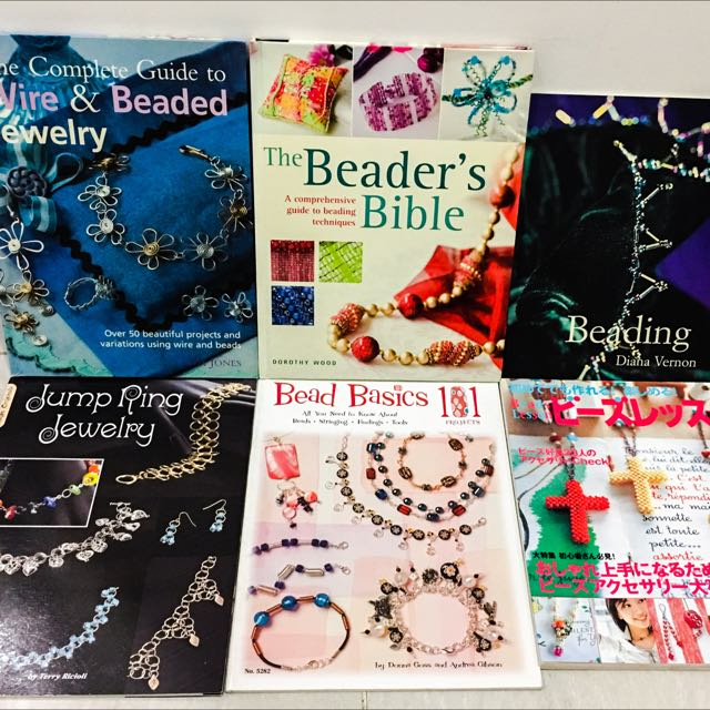 *Reserved* Assorted Beading Books (preloved)