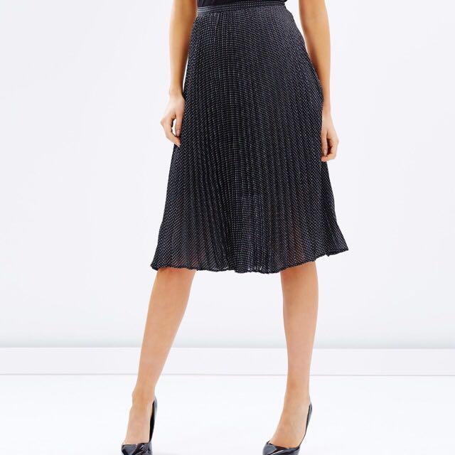 ATMOS & HERE Pleated Skirt Sz 10