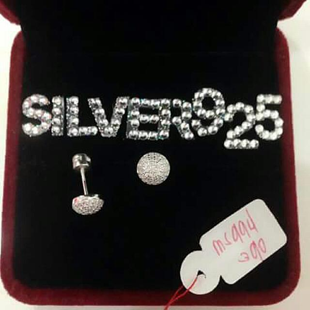 Authentic Sterling Silver 925 Earings