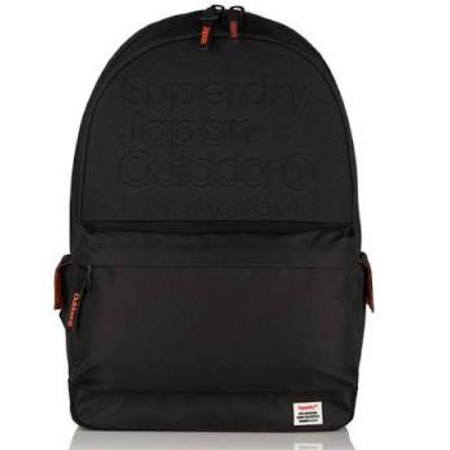AUTHENTIC Superdry Super Emboss Montana Backpack