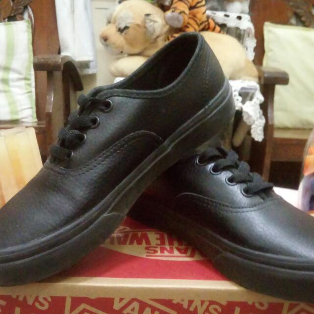 Authentic Vans Leather Shoes