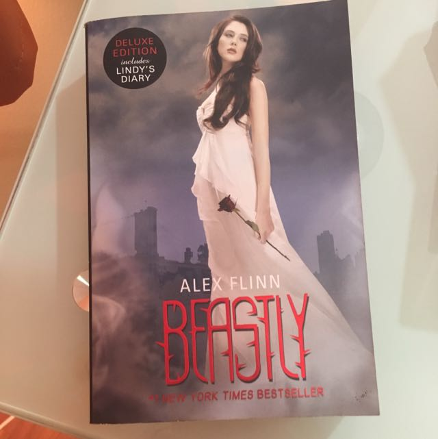 Beastly Book (Deluxe Edition With Lindy's Diary) By Alex Flinn