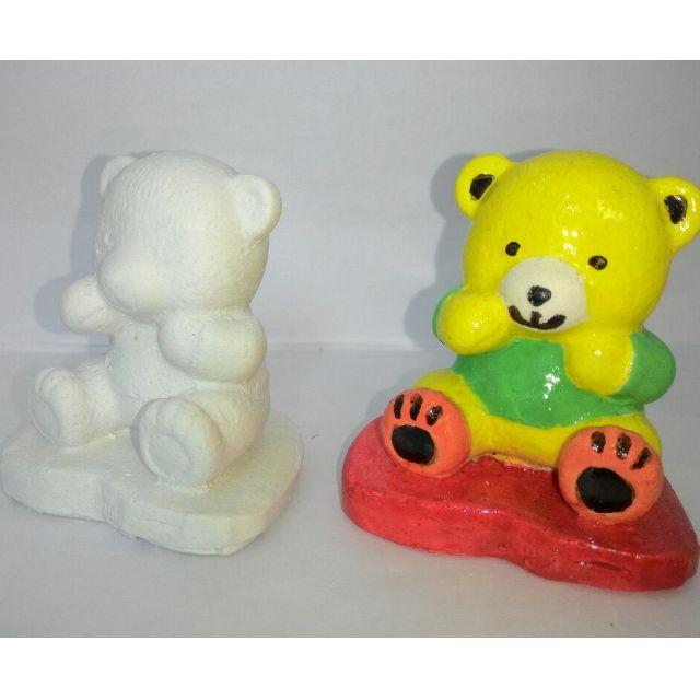 Boneka Mewarnai Teddy Bear Design Craft Handmade Goods