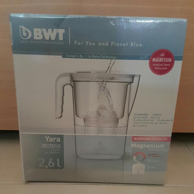 BWT鎂璃子健康濾水壼