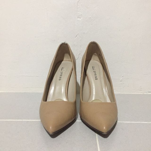 CALL IT SPRING CAMEL POINTED HEELS