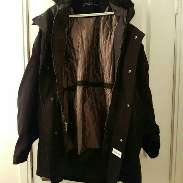 Calvin Klein Men's Jacket Size 40r