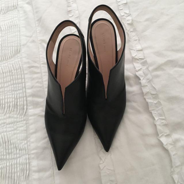 Authentic Celine - Open Heel Boots
