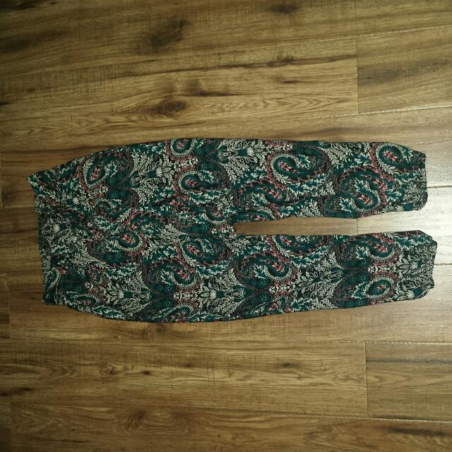Charlotte Russe patterned pants