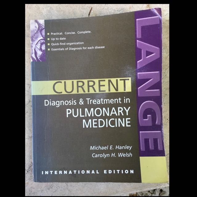 Diagnosis and Treatment In Pulmonary Medicine
