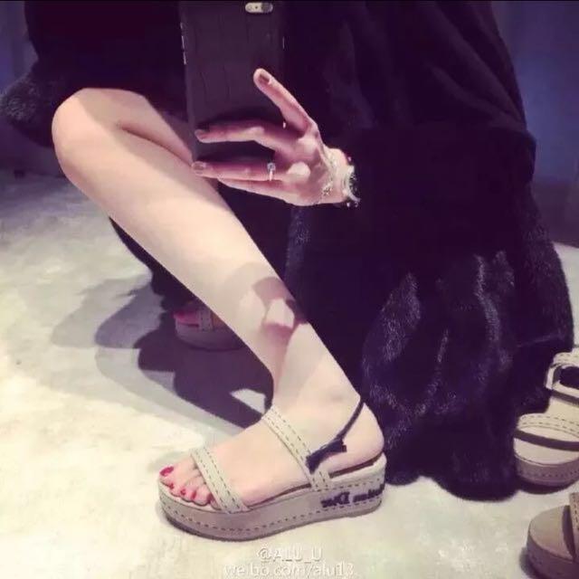 Dior sandal 5cm shoes