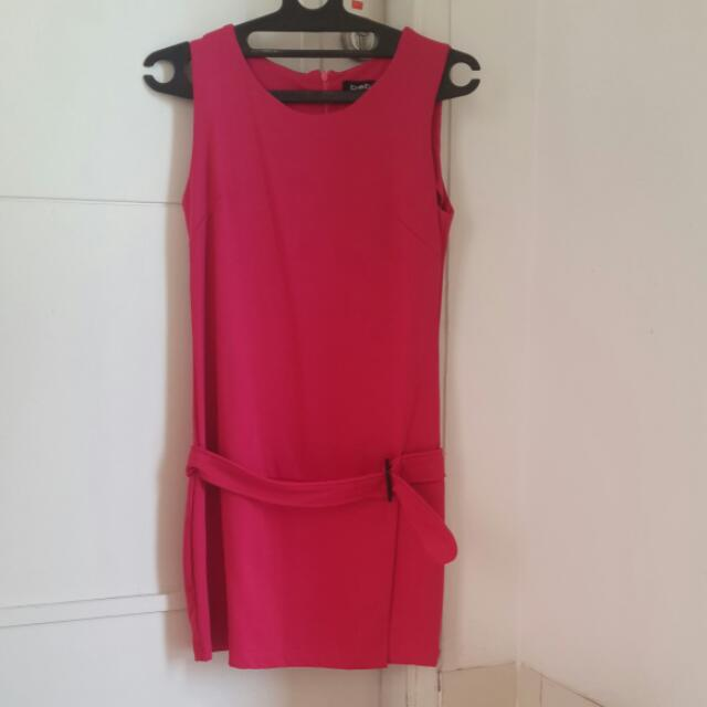 Dress Pink Fuschia