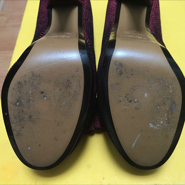 FENDI - Deco Textured Suede Pumps Shoes