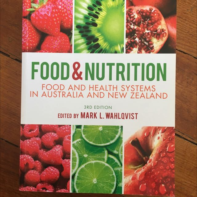 Food And Nutrition Textbook