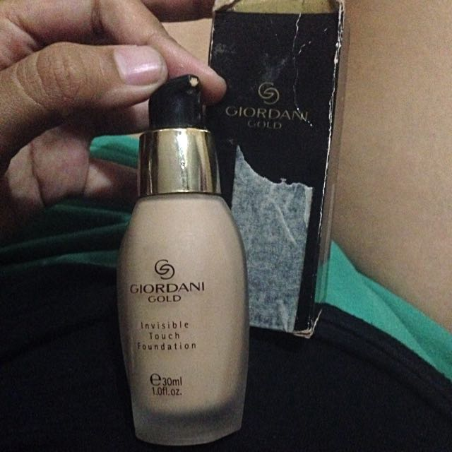 giordani gold foundation color natural beige by oriflame