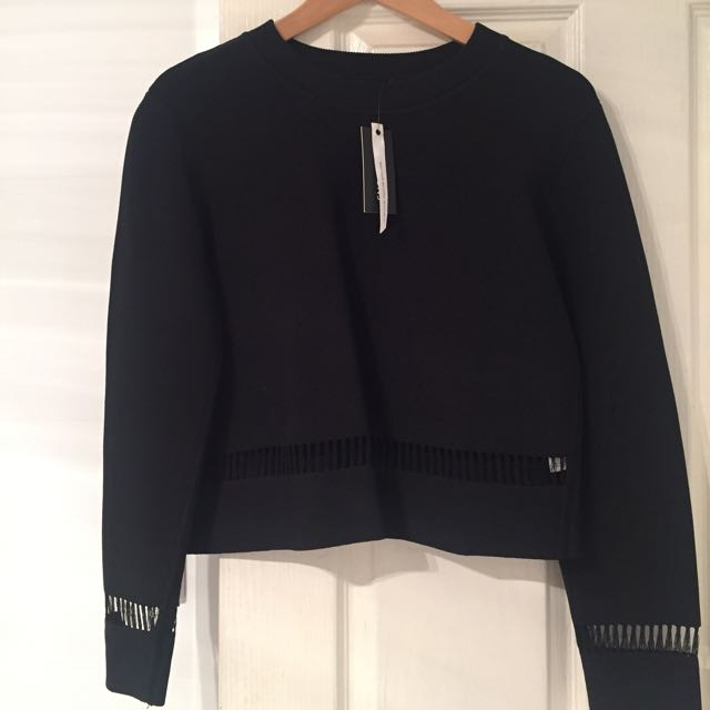 Glassons Cropped Jumper M *delicate*