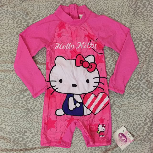hello kitty overall rashguard