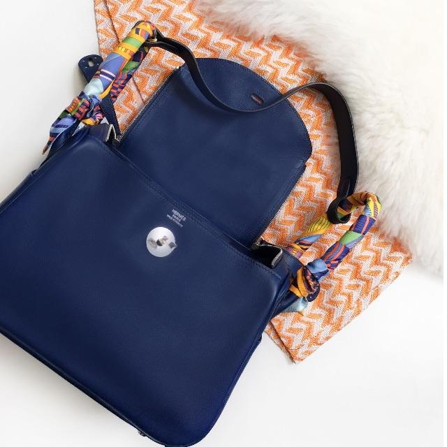 c0240afd23 Hermes Lindy 26 Swift Blue Sapphire