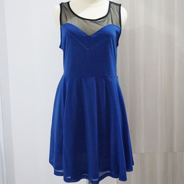 H&M Electric Blue Dress