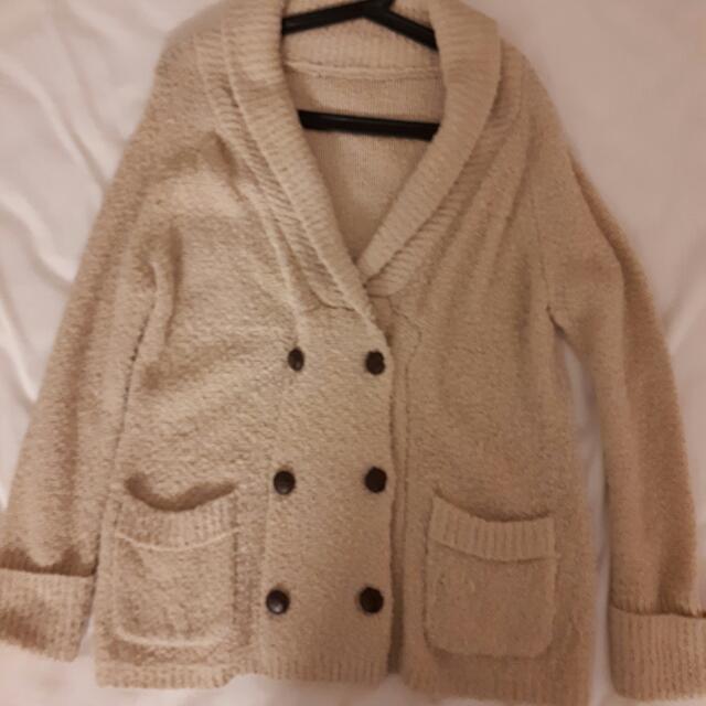 iiMK毛線外套