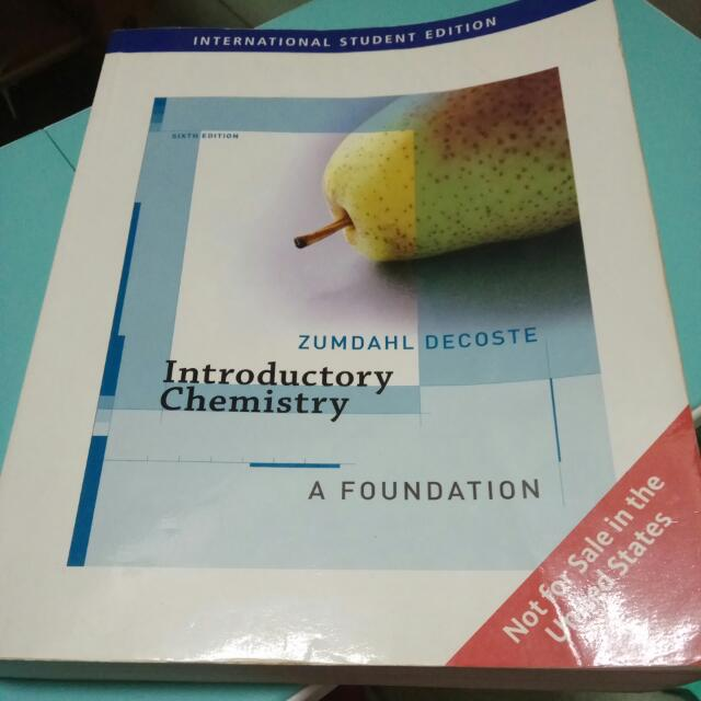 Introductory Chemistry:A Foundation #教科書出清