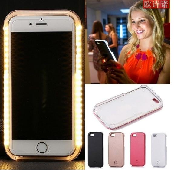 iPhone 5 / 5C / 5S Selfie Case - Illuminating