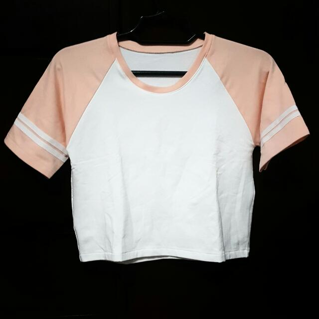Jersey Style Crop Top
