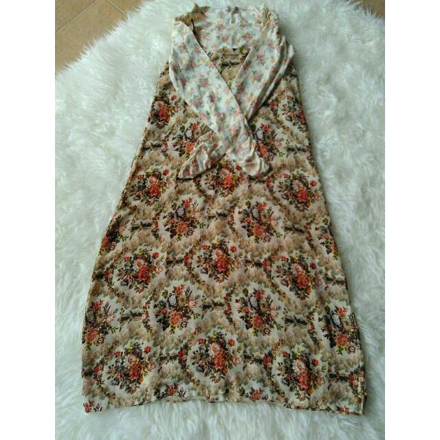Kawaii Classic Flower Dress