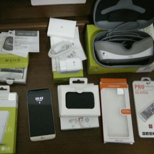 LG G5 4G/32G 含模組及VR眼鏡