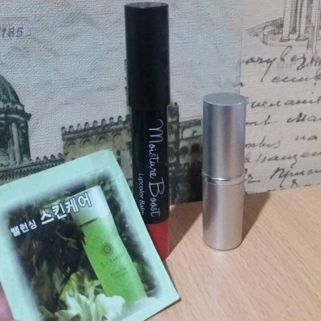 Lipstick And Moisturizer Bundle